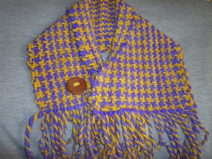 tejido en el telar chilote .