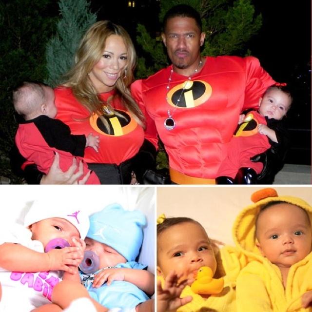 Celebrity kid twins