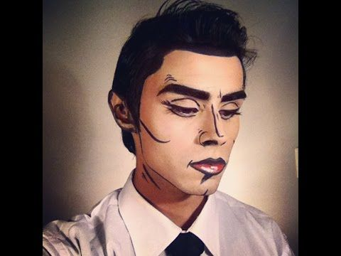 Guy Pop Art Makeup - YouTube