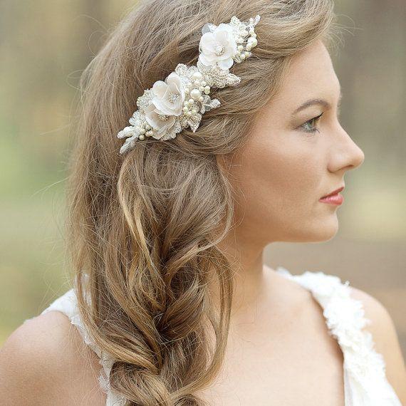 Best 25 Bridal hair flowers ideas on Pinterest Flower hair