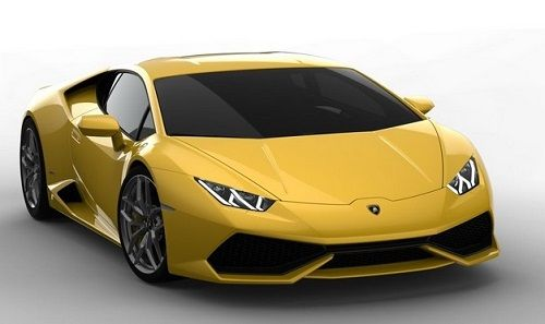 Lamborghini huracan 2014 model car.