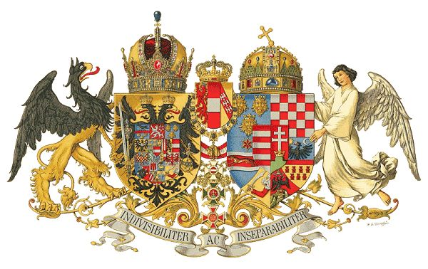 Symbol of the Austria-Hungary Dual Monarchy