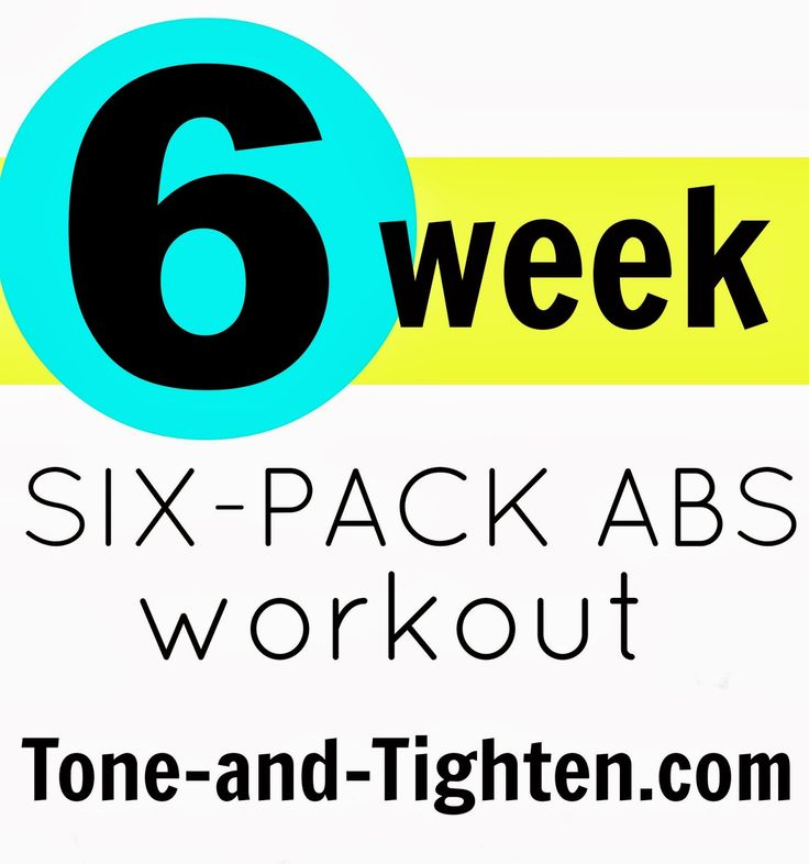 6 Weeks Six-Pack Abs Video Workout with Jillian Michaels on Tone-and-Tighten.com #abs #workout