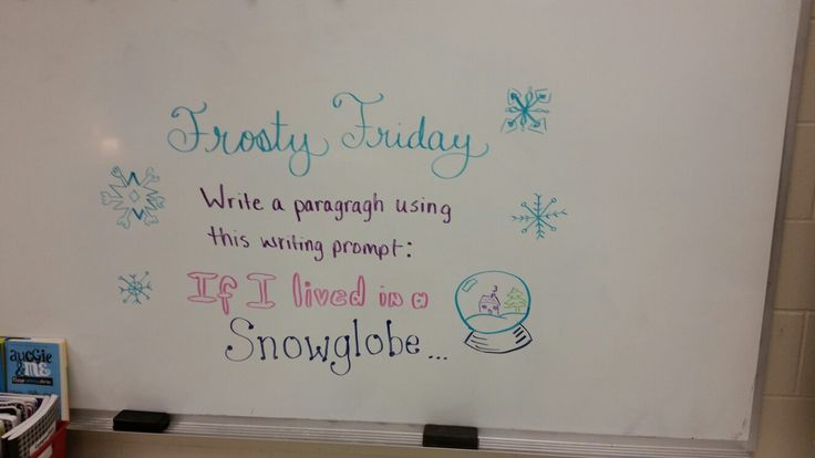 Day before a big snow storm prompt.