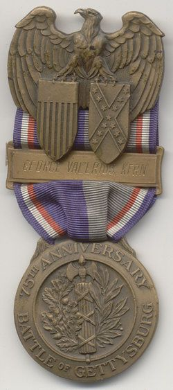 75th Anniversary Of The Battle Of Gettysburg Medal The Old
