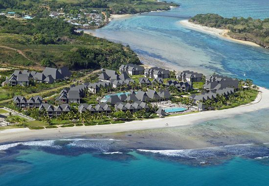 Aerial View of the resort #fiji #Holiday #Packages
