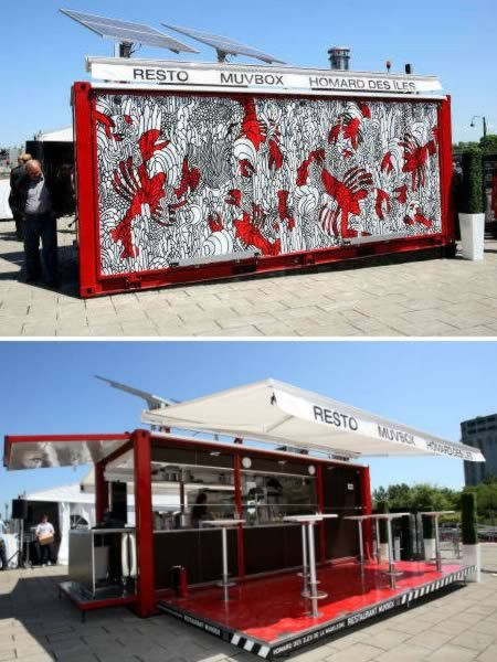 MuvBox Shipping Container Restaurant (Canada)