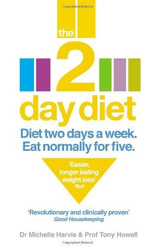 The 2-Day Diet: Diet Two Days a Week. Eat Normally for Five