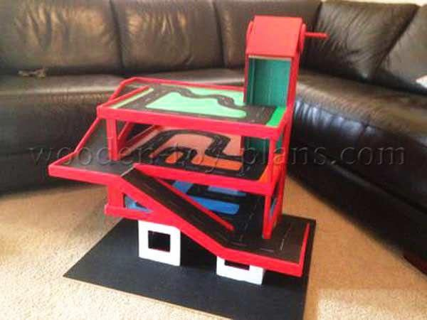 Free Toy Car Garage Plans Free Pdf Download With Step By Step