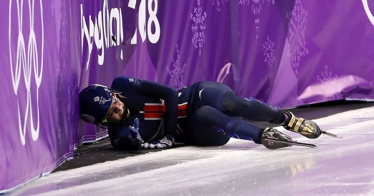 Please stop this is just embarrassing now  Christie travelled to PyeongChang as one of Team GB's biggest medal hopefuls but she'll have to get over her dramatic fall