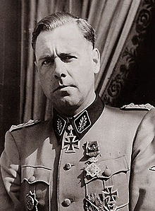 SS-Standartenführer Fritz Witt (27 May 1908 – 14 June 1944) was a German Waffen-SS officer who served with the 1.SS-Panzergrenadier-Division Leibstandarte SS Adolf Hitler before taking command of the 12.SS-Panzer-Division Hitlerjugend. Witt was killed by an allied naval barrage in 1944.
