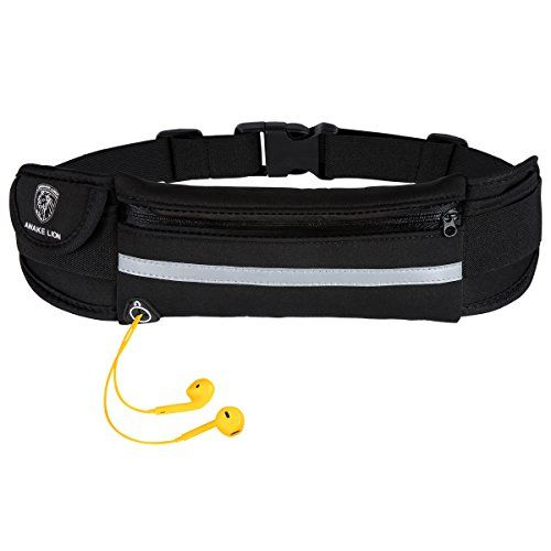 Running Belt  Awakelion Waterproof Fanny Pack Waist Pouch Running Waist Pack iPhone Holder for Running Walking Cycling Gym Hiking and Travel BLACK >>> Find out more about the great product at the image link.(This is an Amazon affiliate link and I receive a commission for the sales)