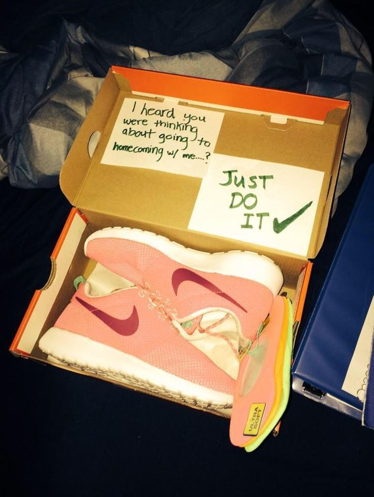 nike just do it promposal or hocopromposal - 20 best promposals or hocopromposals