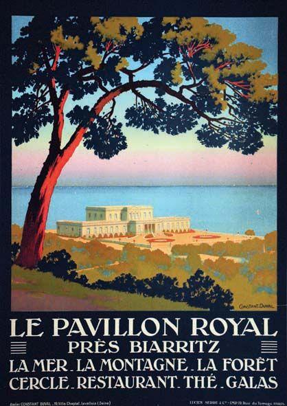 Le Pavillon Royal près de Biarritz     vers 1925