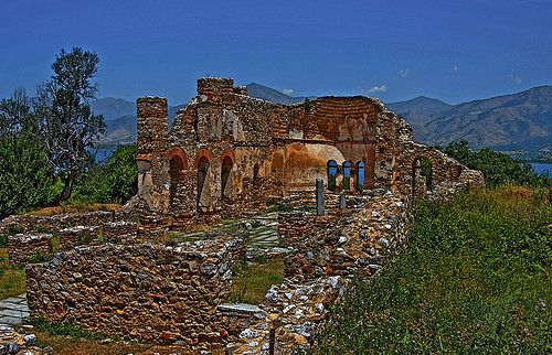 Macedonia, the byzantine basilica of saint achileios, small Prespa, Greece photography BILWANDER