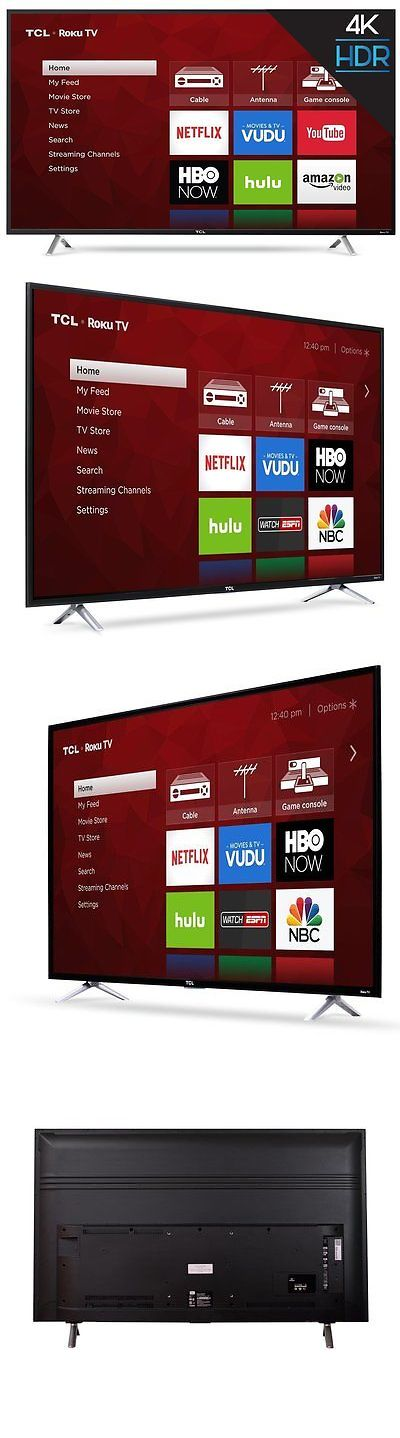 Televisions: Tcl 55 Smart 4K Tv W Clear Motion 120, 3Hdmi 1Usb Ports And Built-In Wifi, Black -> BUY IT NOW ONLY: $469.99 on eBay!