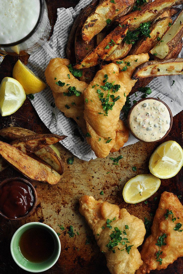 Fish And Chips Recipes You'll Want To Fry Up At Home