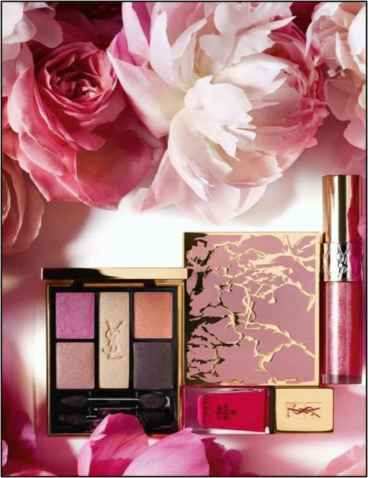 YSL Flower Crush Collection – Spring 2014