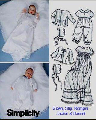 BABY CHRISTENING Sewing Pattern
