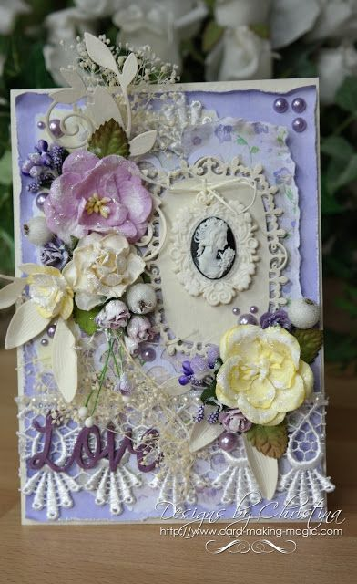 Shabby Chic - Lilac and Lemon