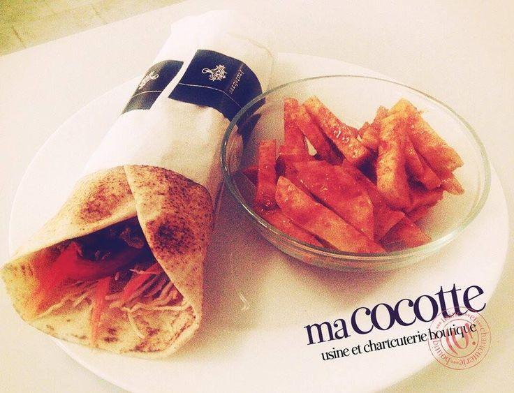 Sănătate și gust bun amestecate bine în shaorma raw cu rawfries la Ma Cocotte Brașov! Perfectă de savurat și în post! Bistro Ma Cocotte. Brasov. #macocotte #gustdepoveste #raw #fries #tasty #healthy #bistro #cuisine #brasov