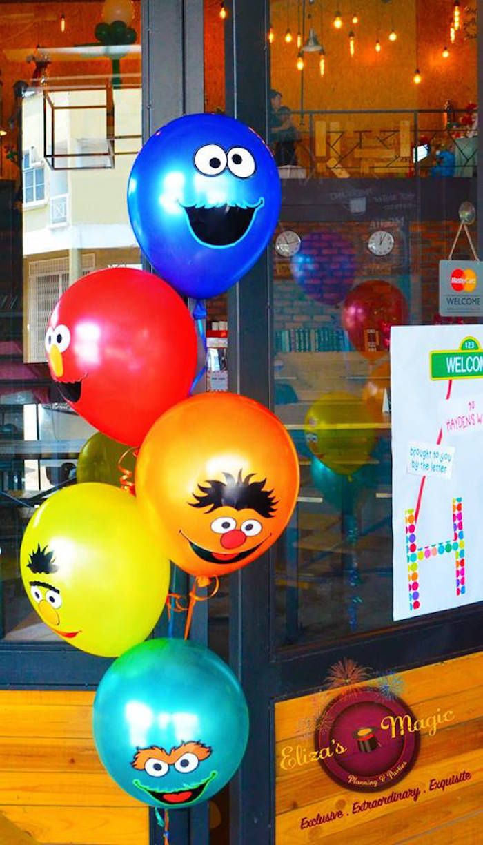 96 best Sesame Street Party Ideas images on Pinterest | Birthday ...