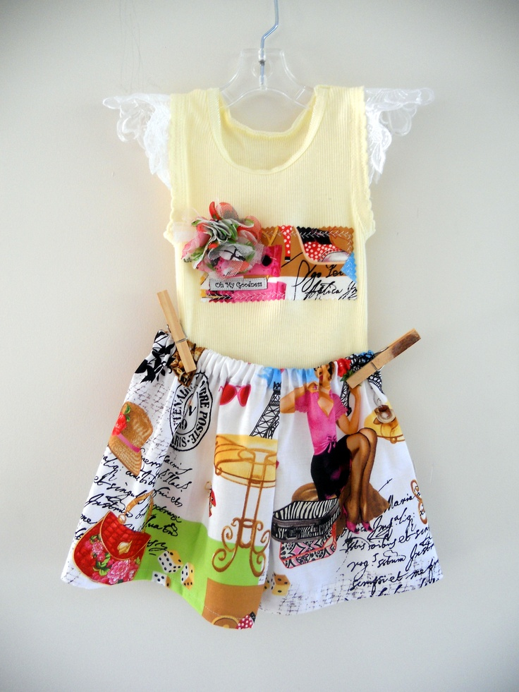 2 piece set...tank and shorts.  Size 1  All cotton and handmade by me.  $AU35.00 + postage.  One only.