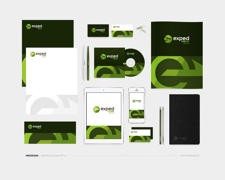 Corporate Identity – EXPED-ECO – 2016 ––– MAYDESIGN http://maydesign.pl