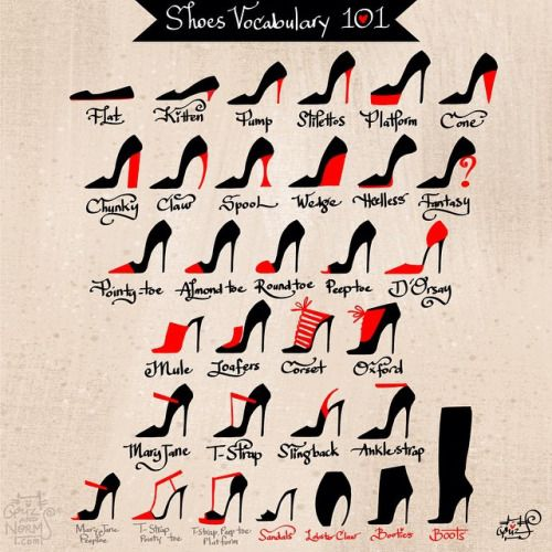 GrizandNorm  Happy Tuesday. It's been a while since we write a Tuesday Tips. We are doing our best to get back into to our routine. Today's tip is on shoes. Since I've been painting a whole lot of shoes, I thought It would be fun to make one on the different type of fancy heels. Cheers! - Griz