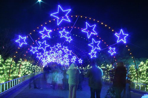 I want to see Austin's Trail of Lights (in Zilker Park) some day. Looks amazing!