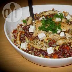 Salade de quinoa méditérranéenne @ qc.allrecipes.ca