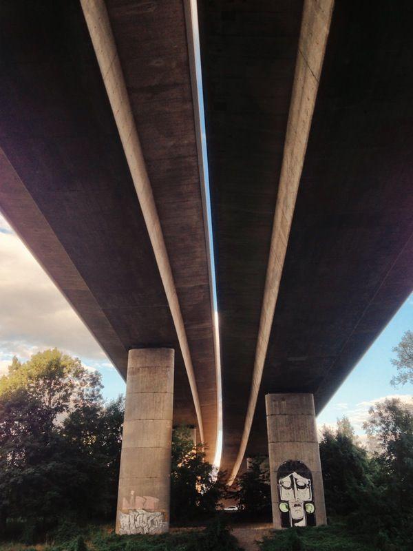Bridges #urban #bridges #concrete #explore #adventure #city | Jan Kloke | VSCO Grid®