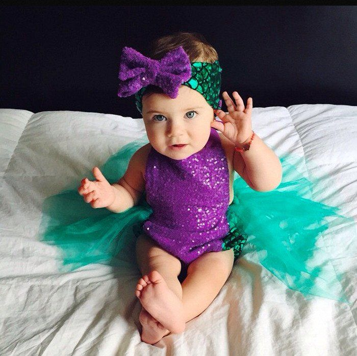 Mermaid Romper/Tutu Set