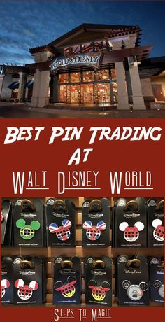 Disney Pin Trading - where to find the pins to trade!
