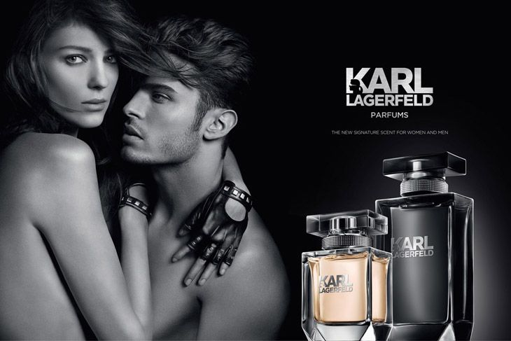 Baptiste Giabiconi for Karl Lagerfeld Parfums