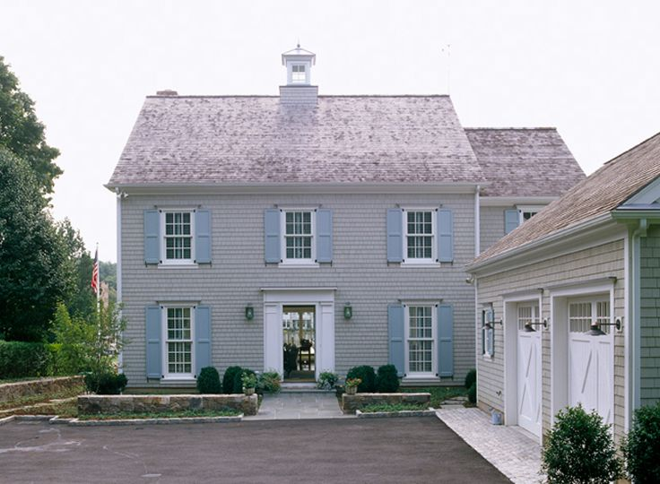 1000 images about colonial exterior trim on pinterest for Classic home exteriors