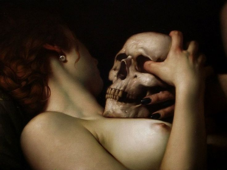 """Roberto Ferri (37) is an Italian, Taranto-based painter and visual artist with a vivid obsession for the human body, demonology and the masters of Baroque. He finds his artistic inspiration in the works of Caravaggio, but he's also influenced by the art of """"ancient masters of Romanticism, Academicism and Symbolism"""", such as, Ingres,Gericault, Moreau, Redon …"""