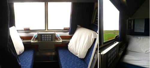 Amtrak Empire Builder Sleeping Car Service from Chicago to