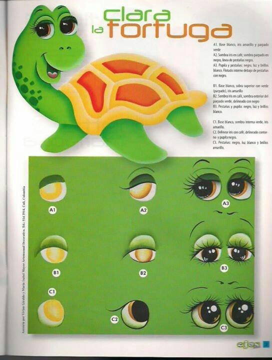 ojos de tortuga /Turtle eyes