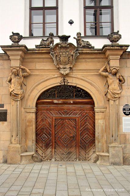 door in Olomuniec / Czech Republic