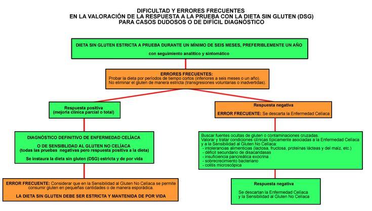 Errores frecuentes en la valoración de la respuesta a la prueba con la dieta sin gluten (DSG) para casos dudosos o de difícil diagnóstico