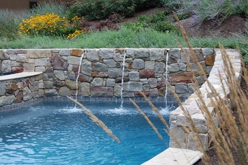 Hillside pool design ideas pictures remodel and decor for Pool design hillside