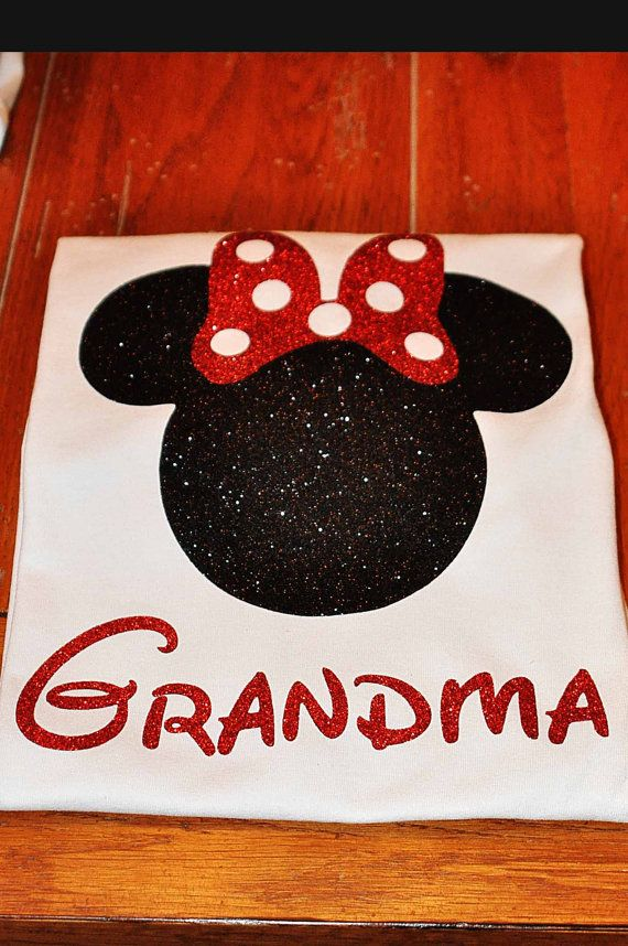 Custom Disney/Mickey Mouse Inspired Family Shirts by GlitterTee