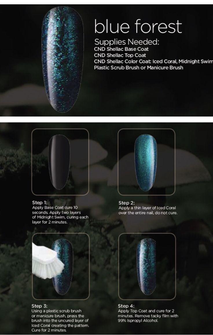 CND nail design