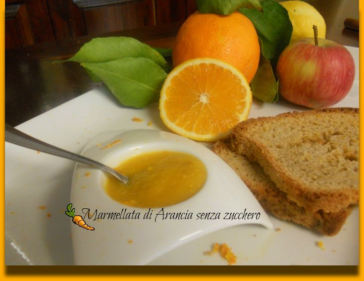 Marmellata arance senza zucchero