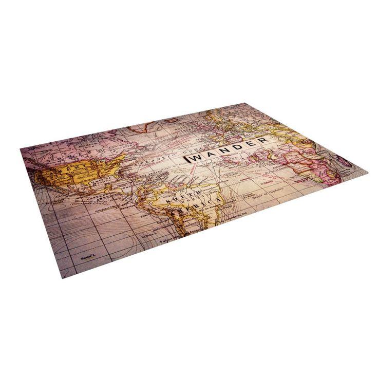 """Sylvia Cook """"Wander"""" Indoor / Outdoor Floor Mat"""