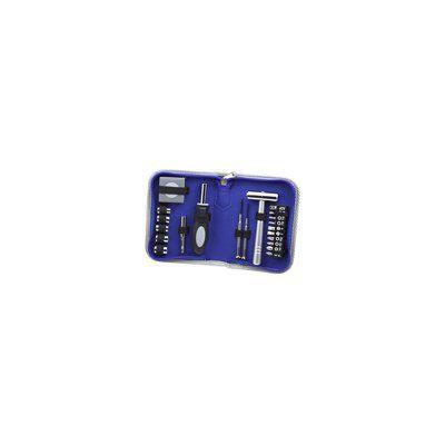 Wilouby 22-Pocket Tool Pallet in Nylon Case