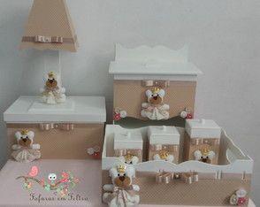 Kit Higiene Ursinha Princesa