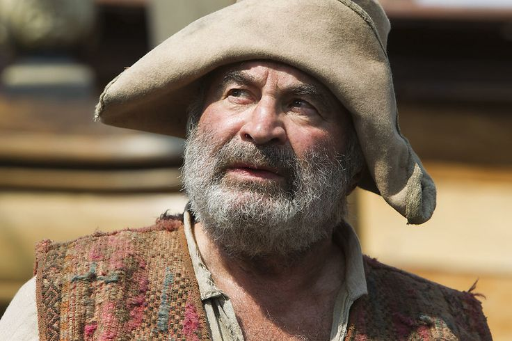 Bob Hoskins as Smee in Neverland in 2010. (Photo by ...