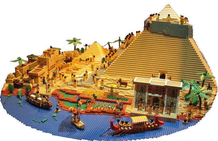 Starożytny Egipt by LEGO